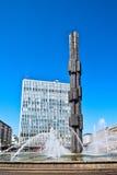 szklana stela Fotografia Royalty Free