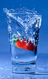 szklana truskawka zdjęcia royalty free