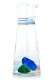 Szklana waza. Zdjęcie Stock