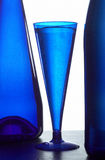 szklane błękitny butelki Zdjęcie Royalty Free