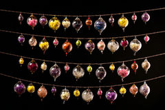 szklane kule kolorowe Obrazy Royalty Free