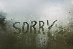 szklane # Smucenia stroskania ponurości jesień Zdjęcie Royalty Free
