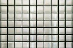 Szklanego bloku ściana Obrazy Royalty Free
