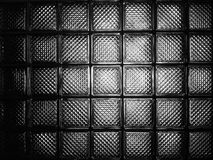 Szklanego bloku ściana Obraz Royalty Free