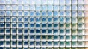 Szklanego bloku ściany tekstura Obrazy Royalty Free
