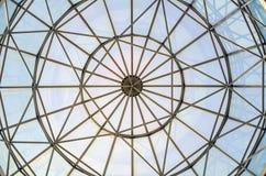 Szklanego okno kopuła Obrazy Stock