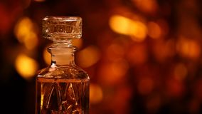 Szklanego pachnidła bokeh hd złocisty materiał filmowy zdjęcie wideo