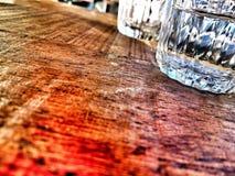 Szklanego whisky alkoholu restauracyjny pije napój Obrazy Stock