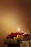 szklanego życia spokojny wino Fotografia Stock