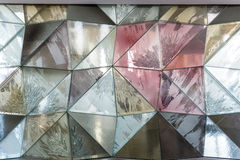 Szklanej ściany abstrakta tekstura Obrazy Stock