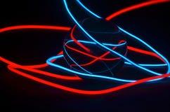 Szklanej piłki światła pasek Fotografia Royalty Free