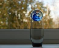 Szklanej piłki wnętrze Zdjęcie Stock
