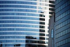 Szklani budynki Fotografia Stock