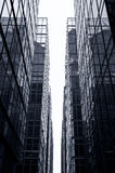 szklani Hong kong biura drapacz chmur Zdjęcia Stock