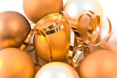 szklani piłek boże narodzenia Zdjęcia Royalty Free