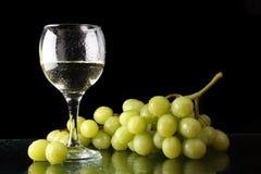 szklani winogrona Zdjęcia Royalty Free