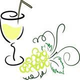 szklani winogrona Zdjęcie Royalty Free