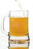szklankę piwa Zdjęcie Stock