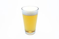 szklankę piwa pół litra Zdjęcia Stock