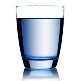 szklankę wody Zdjęcie Royalty Free