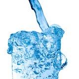 szklankę wody słodkiej Obrazy Stock