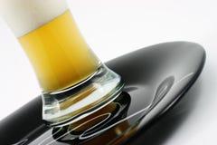 szklankę piwa Zdjęcia Stock