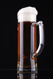 szklankę piwa Obrazy Stock