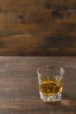 szklankę whisky Fotografia Stock