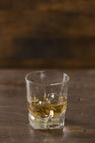 szklankę whisky Obrazy Royalty Free