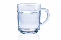 szklankę wody Obraz Royalty Free