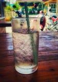 szklanka lodu Zdjęcie Royalty Free
