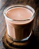 szklanki mleka czekoladowego Obraz Royalty Free