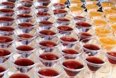 szklanki są zgrupowane Martini Fotografia Royalty Free