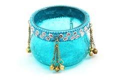 szklany świeczka właściciel Orient zdjęcie royalty free