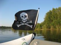 szklany bandery piratów dostępne stylu wektora Obraz Stock