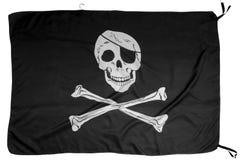 szklany bandery piratów dostępne stylu wektora Obrazy Royalty Free