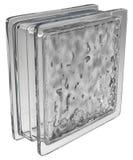 Szklany blok (falisty) Zdjęcia Royalty Free