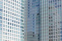 Szklany budynek Fotografia Stock