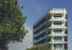 szklany budynek nowoczesnego urzędu Fotografia Royalty Free