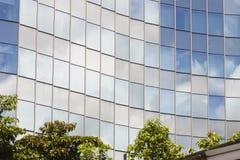 Szklany budynku biura centrum Zdjęcie Royalty Free