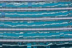 Szklany budynku drapacz chmur Zdjęcia Stock