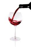szklany czerwone wino obrazy royalty free