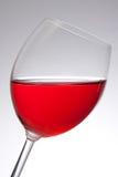 szklany czerwone wino Zdjęcia Royalty Free