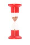 szklany czerwony piasek Obraz Royalty Free
