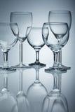 szklany czysty wino obrazy royalty free