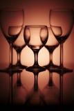 szklany czysty wino fotografia royalty free