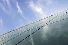 szklany drapacz chmur Fotografia Stock