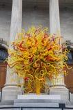 Szklany drzewo Zdjęcia Royalty Free