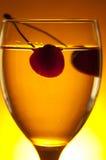 szklany kolor żółty Zdjęcia Stock