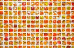 Szklany kolorowy mozaiki tło. Zdjęcie Stock